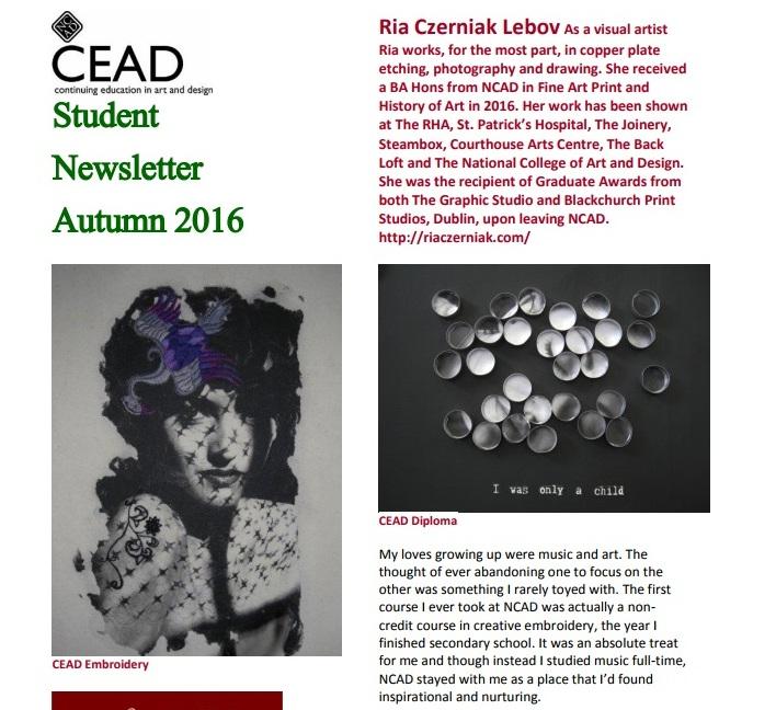 CEAD Newsletter