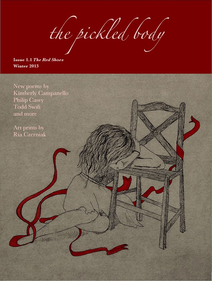 'Pickled Body' Poetry Quarterly Online Publication. Volume 1 'The Red Shoes'